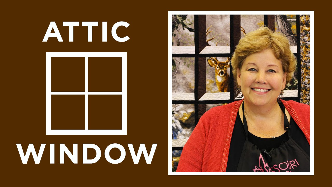 Creating An Attic Windows Quilt With A Panel Keeping U N